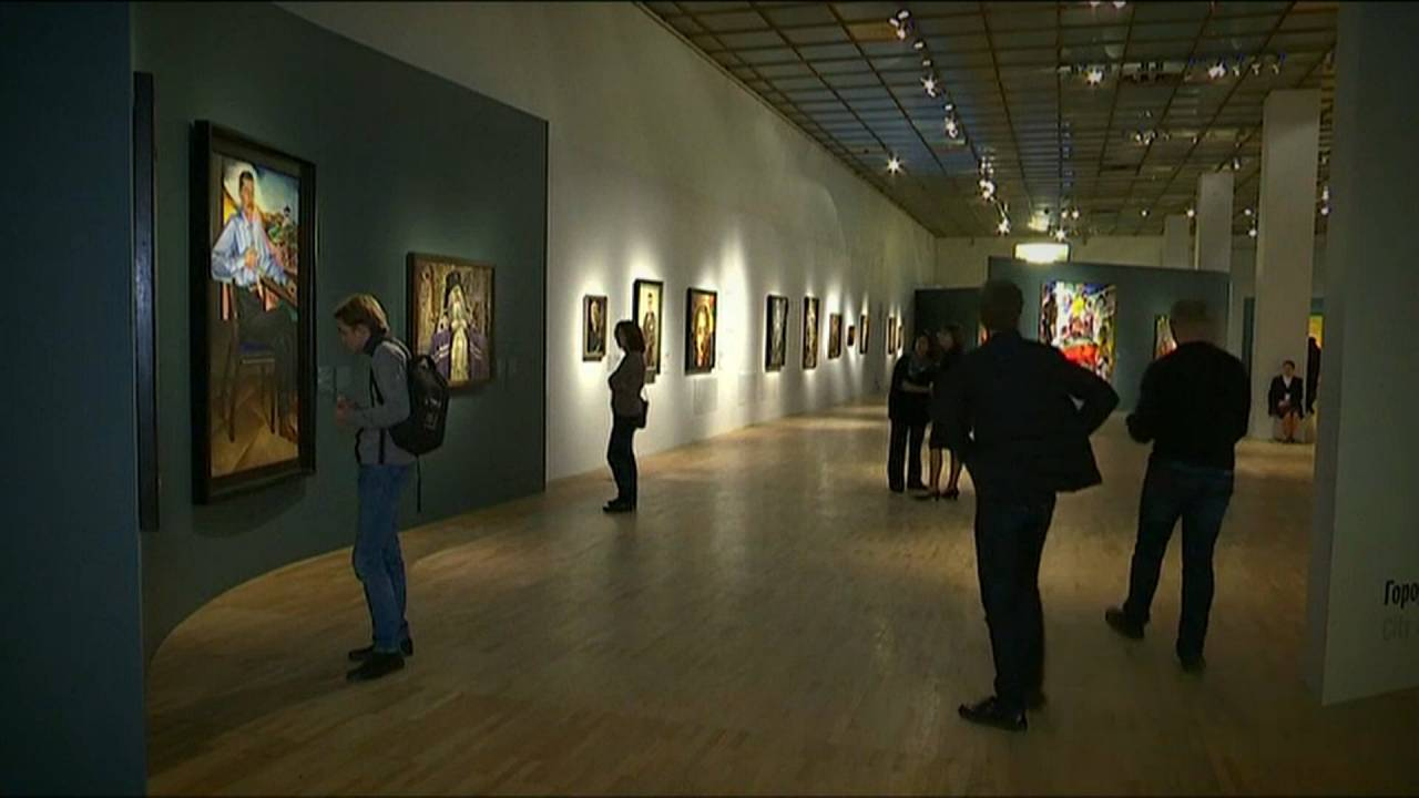 October revolution exhibition opens in Moscow