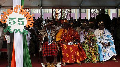 Côte d'Ivoire : caravane de paix des rois et chefs traditionnels