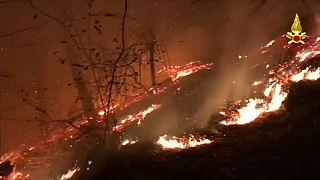 Waldbrände wüten in Italien