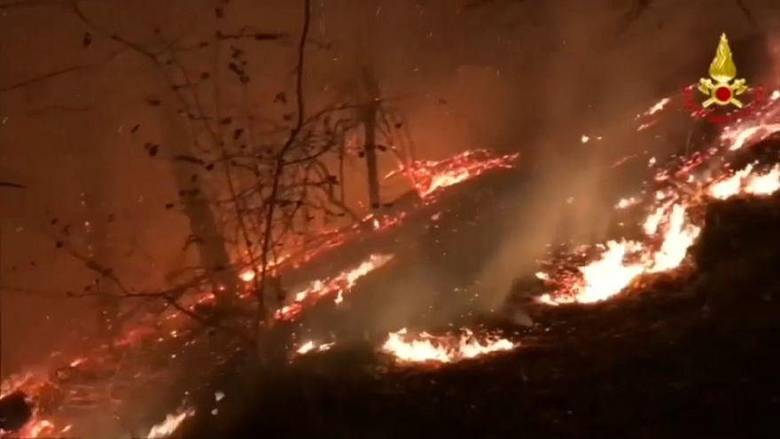 L'Italie du nord brûle