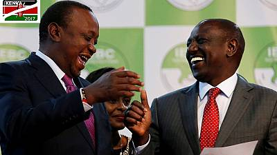 Uhuru Kenyatta wins Kenya's rerun election by 98.26% of votes