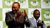Kenya'da Uhuru Kenyatta yeniden devlet başkanı seçildi