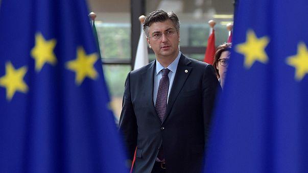 Andrej Plenkovic quer Croácia na zona euro em 2025