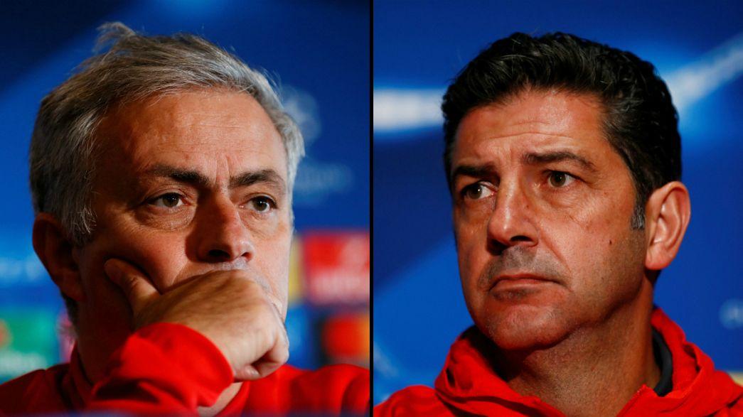 """Duelo de """"diabos vermelhos"""" em Old Trafford"""