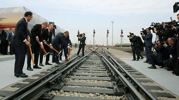 Demir İpek Yolu'nun en önemli bölümü hizmete açıldı