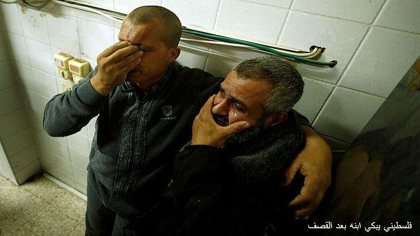 مقتل 7 فلسطينيين في قصف إسرائيلي لنفق في غزة