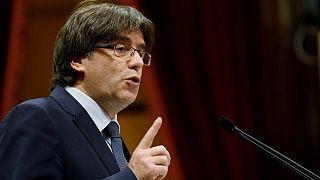 Carles Puigdemont Brüksel'e gitti