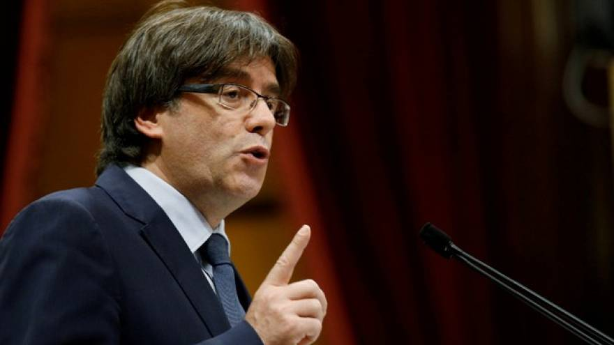 Puigdemont proves elusive on Brussels trip