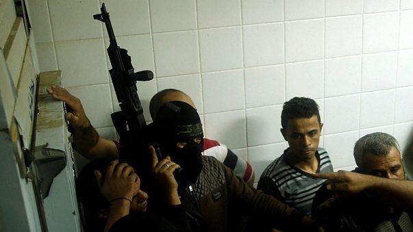 اسرائیل تونل مخفی در مرز غزه را تخریب کرد