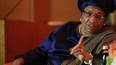 Sirleaf slams 'baseless' poll interference claims by Liberia's ruling party