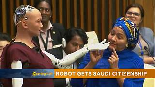Robots rising; Sophia the robot gets Saudi citizenship [Hi-Tech]
