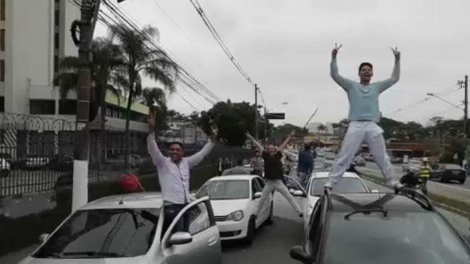 Brasile, protesta dei conducenti di Uber