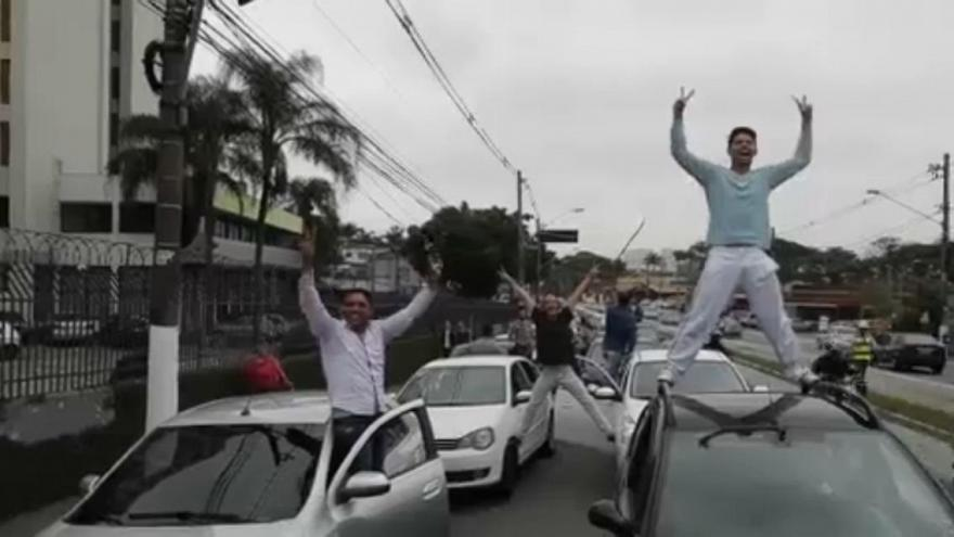 Uber drivers in Brazil protest stricter regulations