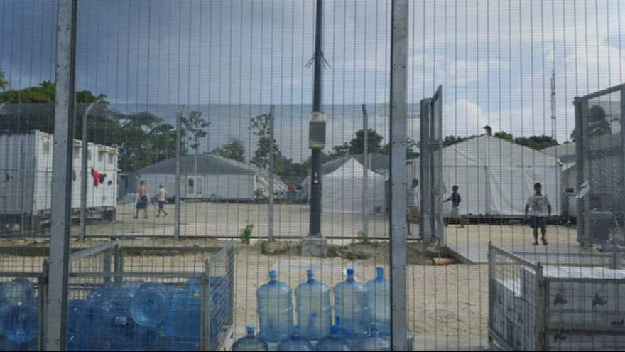 Tensions rise as refugees refuse to leave Australian camp in Papua New Guinea amid safety fears
