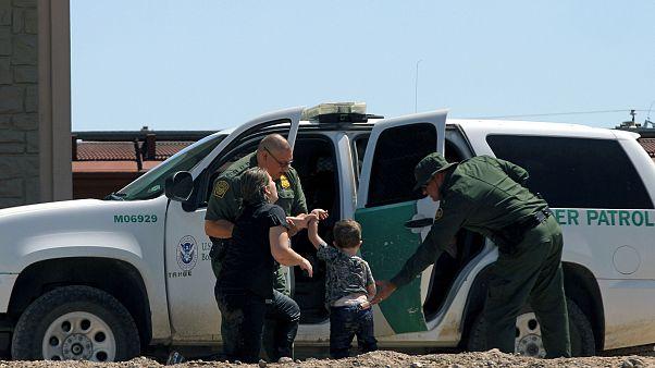 Migrants turn themselves into U.S. Border Patrol agents to claim asylum aft