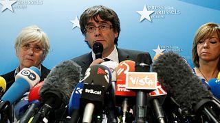 Katalan lider Puigdemont: Adaletten kaçmıyorum