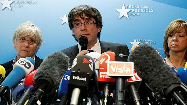 Le président catalan destitué ne demande pas l'asile en Belgique