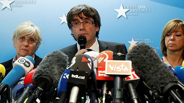 Ousted Catalan leader 'not in Belgium to seek asylum'