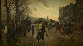 Londres pelos olhos de artistas franceses no exílio