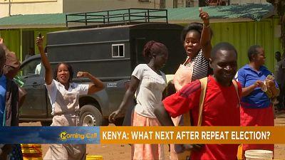 Uhuru Kenyatta wins Kenya's repeat election [The Morning Call]