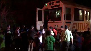 Más de una veintena de heridos en un choque de trenes en Costa Rica