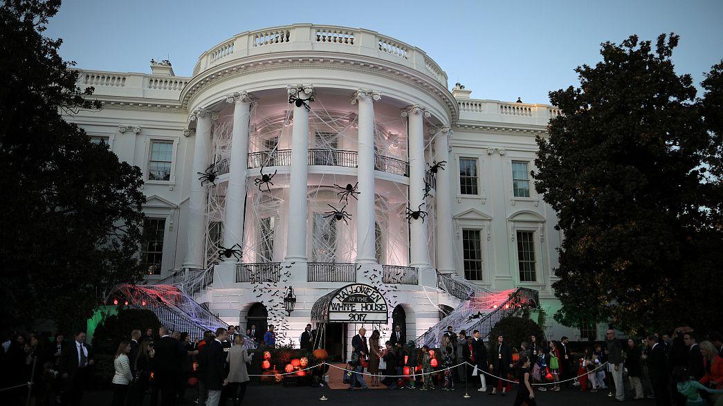 Дональд Трамп принял в Белом доме вампиров и монстров