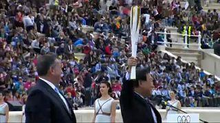 Kış Olimpiyat Oyunları meşalesi Güney Kore yolunda
