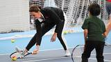 Η Κέιτ Μίντλετον έδειξε το ταλέντο της στο τένις