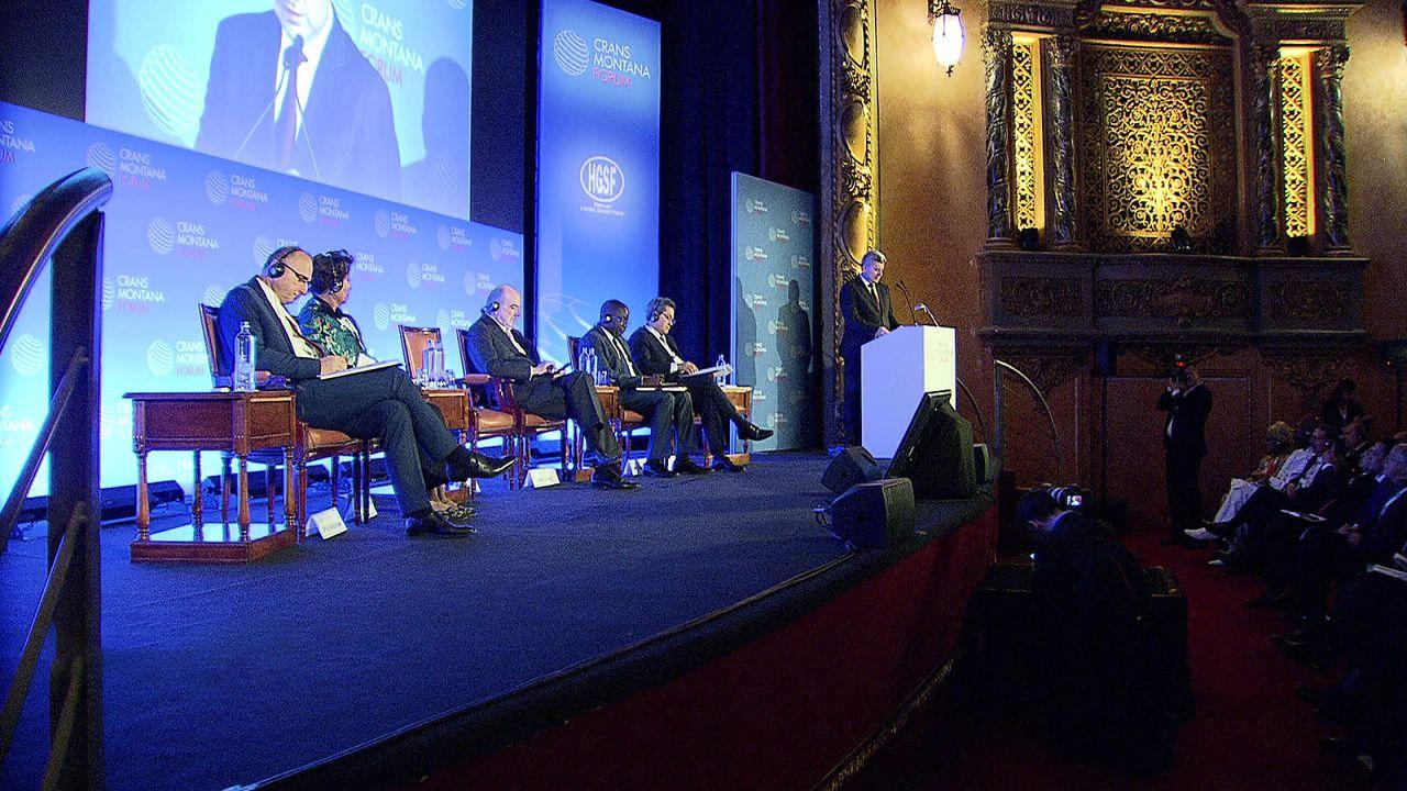 Crans Montana Forum: a globális biztonságról