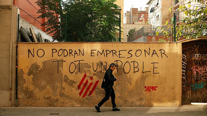 """Life in the """"Republic of Catalonia"""" comes with strong emotions"""