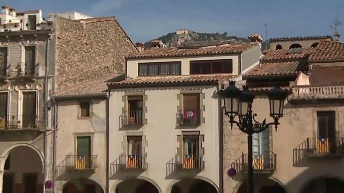 Preocupación en Amer, el pueblo natal de Puigdemont