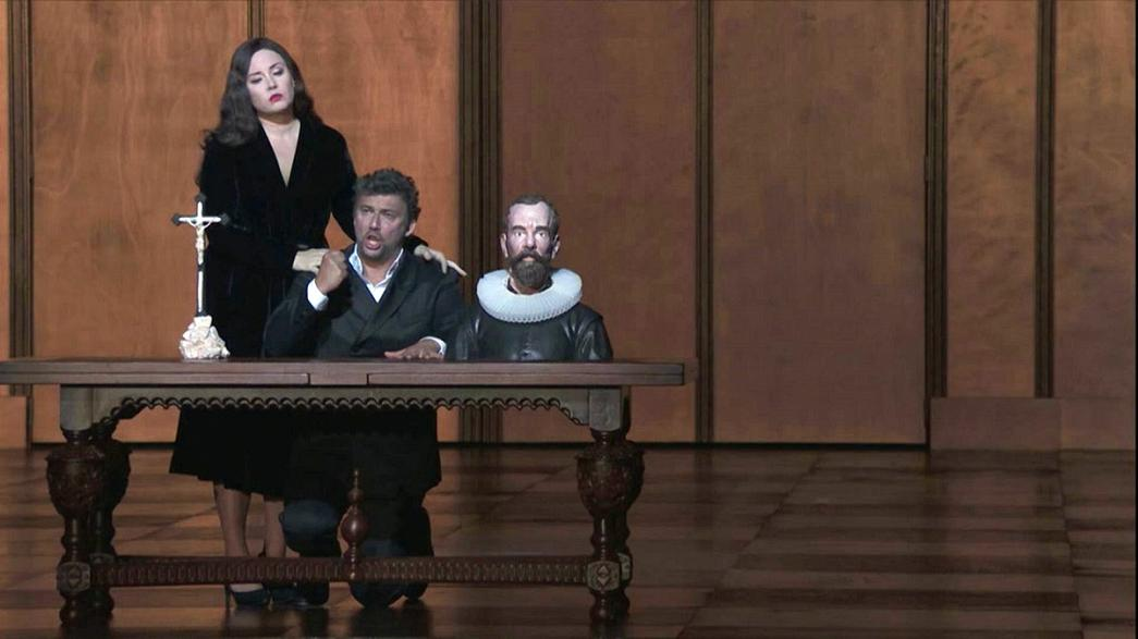 نسخه فرانسوی اپرای «دون کارلو» در اپرای باستیل در پاریس
