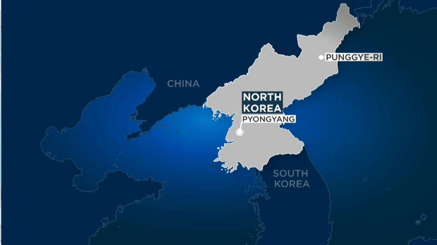 Kuzey Kore'de tünel çöktü iddiası