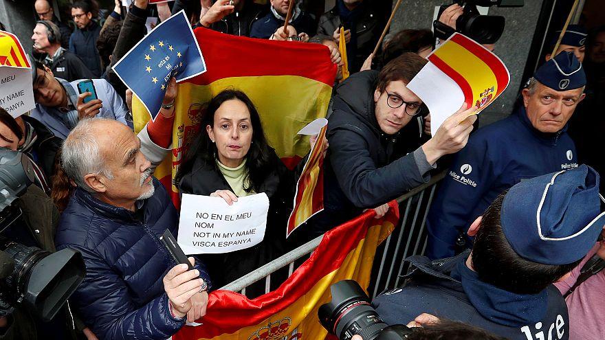 Как Пучдемона встретили в Брюсселе