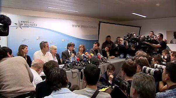 """La rueda de prensa de Puigdemont en el programa """"The Brief"""""""