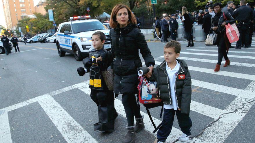 Теракт в Нью-Йорке: рассказ свидетелей