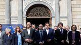 دادگاه عالی اسپانیا مقامات جداییطلب کاتالونیا را احضار کرد