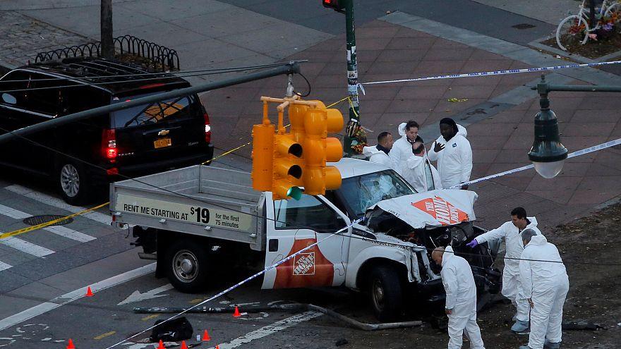شاهد لحظة إلقاء القبض على منفذ اعتداء مانهاتن