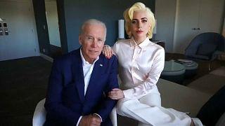Lady Gaga και Τζο Μπάιντεν μαζί στον αγώνα κατά της βίας στις γυναίκες