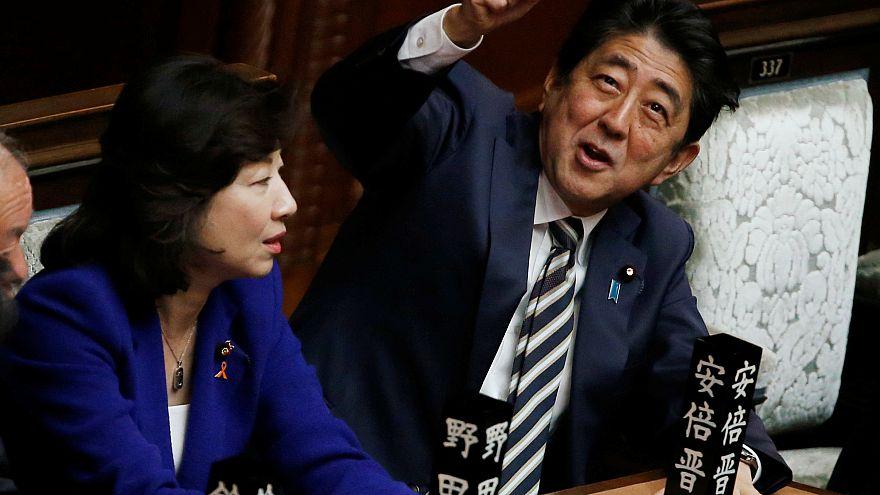 شينزو آبي يعود إلى سدة الحكم في اليابان بعد فوز كبير في الانتخابات