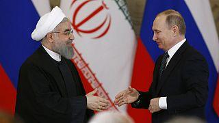 بوتين في طهران لبحث الأزمة السورية والاتفاق النووي