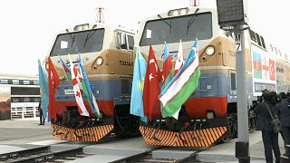 Silk Road Rail Links Europe and China