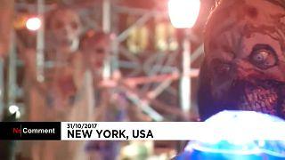 مدينة نيويورك تحتفل بعيد الهالوين