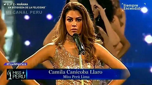 Pérou : des miss dénoncent les violences faites aux femmes