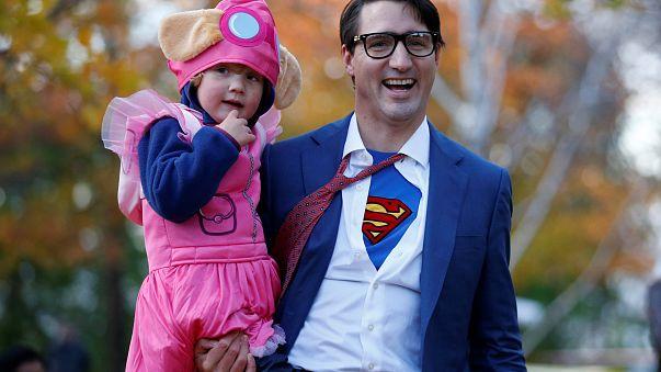 Ottawa: Superman Trudeau