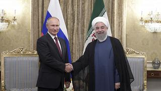 Putin makes visit to Iran