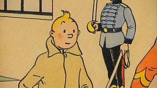 Rare colour cover art by Herge could near one million euros at Paris auction