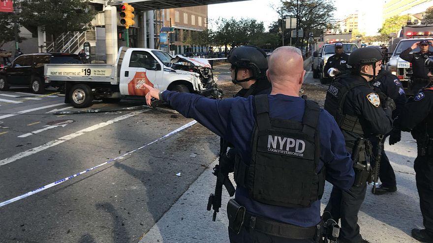Un policía de Nueva York convertido en el héroe del ataque terrorista
