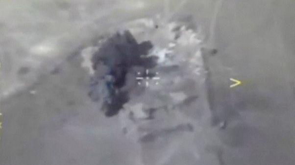 روسیه مواضع داعش در استان دیر الزور سوریه را بمباران کرد