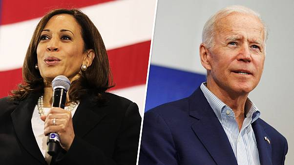 Image: Kamala Harris and Joe Biden